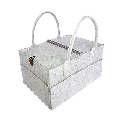 Diaper Organiser, Diaper Caddy Organiser with Cover Nappy Changing Storage Bag