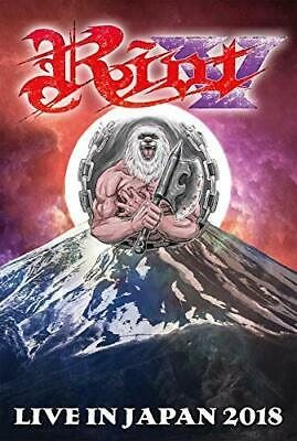 RIOT LIVE IN JAPAN 2018 JAPAN BLU-RAY From japan