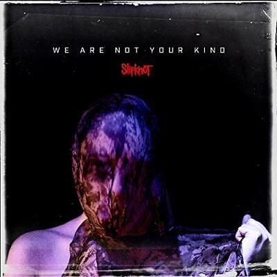 2019 SLIPKNOT WE ARE NOT YOUR KIND WITH BONUS TRAC From japan
