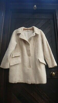 Gorgeous vintage 1960/70s wool/llama & mohair jacket styled by 'Patty Page'