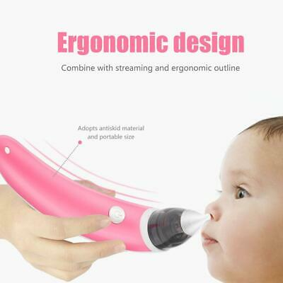 Electric Baby Nasal Aspirator Hygienic Automatic Snot Sucker Nose Cleaner CO