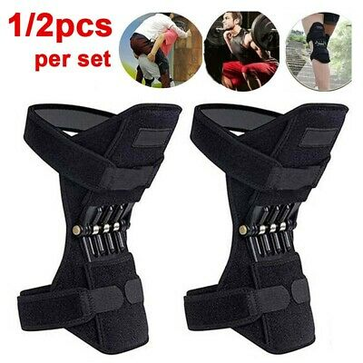 Power Knee Stabilizer Pad Lift Joint Support Brace Rebound Spring Force Booster