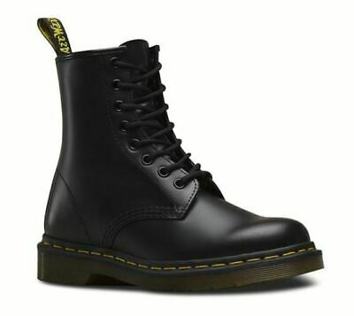 BRAND NEW Original AUTHENTIC Unisex Dr Martens 1460 Smooth 8 Lace Up Black $139