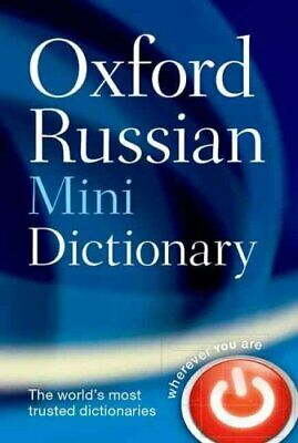 Oxford Russian Mini Dictionary by Oxford Dictionaries 9780198702351   Brand New