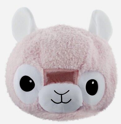 NEW Cute Soft Pussy Cat Plush Animal Head Mascot Costume Kids Party Book week