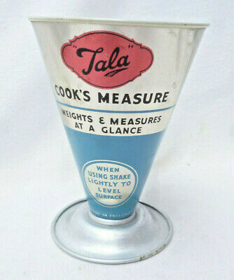 VINTAGE RETRO TALA BRAND COOK'S KITCHEN MEASURE - Made in England