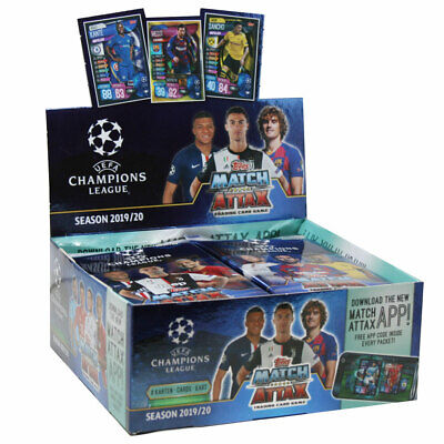 Topps Champions League 2019/20 Trading Cards 1 Display (30 Booster)