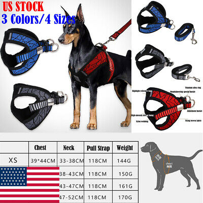 Pet Control No-Pull Harness for Dog Adjustable Breathable Vest Chest Strap