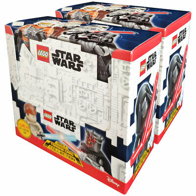 LEGO Star Wars - Serie 2 Trading Cards - 2 Displays (100 Booster)