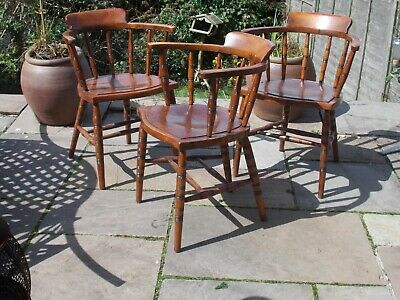 Early 20th century English wooden carver chairs, good condition. £135.00. each