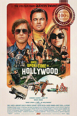 New Once Upon A Time In Hollywood Tarantino Cinema Movie Print Premium Poster