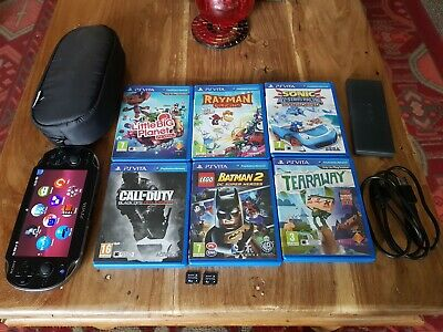 Sony psp vita 3G 16GB & 4GB Genuine memory card & 6 Games - excellent condition