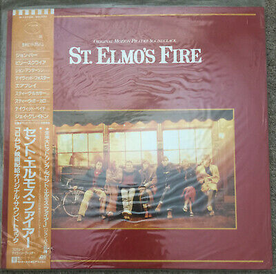 St. Elmo's Fire Soundtrack Japanese LP with obi & insert John Parr Billy Squire