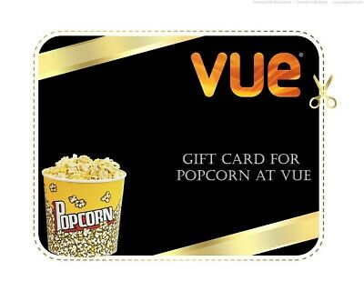 X3 VUE ANY Cinema Popcorn Medium UK - Code *INSTANT DELIVERY*