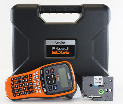 NEW Brother PT-E110 Label Maker P-Touch PTE110 ** Includes: Carrying Case **