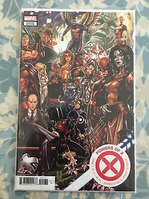 MARVEL COMICS POWERS OF X #1 MARK Brooks Connecting Variant to House of X