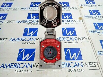 Crouse-Hinds Enr5151 Explosion Proof Receptacle