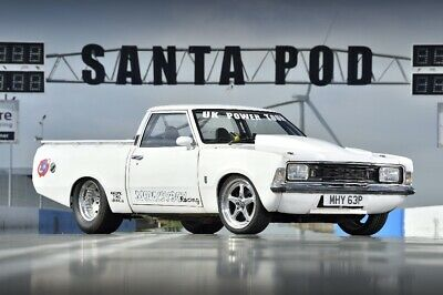 Ford cortina mk3 v8 pickup drag car drift track race car hot rod classic Sbc px