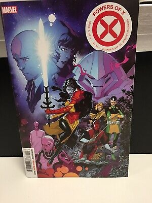 Powers Of X #1 Cover A Marvel Comics Hickman Hot Book
