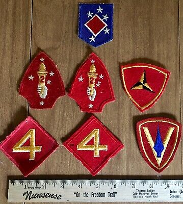 USMC US MARINE CORPS Marine Air Wing Pacific 1st 2nd 3rd 4th patch collection
