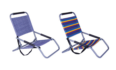 Beach Chair Foldable Camping Outdoor Picnic Pool Lightweight Fishing Storage 1kg