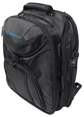 Rockville Travel Case Backpack Bag For Mackie 1402VLZ4 Mixer