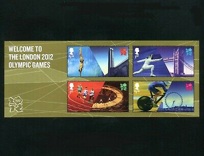 GB 2012 Welcome to London Olympic Games Miniature sheet SG MS3341 MNH / UMM