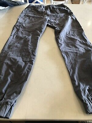 Boys sz 12 Country Road, Grey Lightweight cargo pants, elasticated, Good Cond.