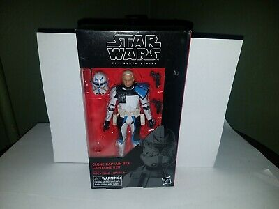 Star Wars Black Series Captain Rex Brand New Sealed! 6""