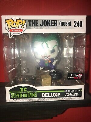 Gamestop Exclusive Funko Pop! Dc Comics: Heroes: Jim Lee: The Joker Hush # 240