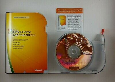 Microsoft Office 2007 Home and Student - 5425018691005 with product code