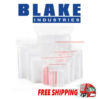 Resealable Zip Lock plastic bags BULK with 24 sizes and multiple quantity + FREE