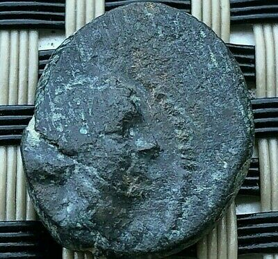 Sardes, Lydia 133-1 Bc Ae17 Apollo & Club Ancient Greek Bronze Coin
