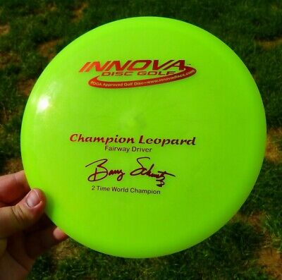 New OOP 2x Pearly Opaque Leopard Innova Champion Disc Golf Disk 175g