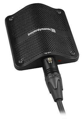 Beyerdynamic TG D71 Condenser Boundary Microphone Mic for Bass Drum/Cajon/Piano