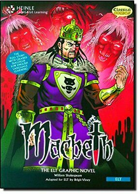 Macbeth (British English): Classic Gr... by Classical Comics Mixed media product