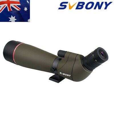 SVBONY SV13 Angled Zoom 20-60x80mm Fully Multi-Coated Refractor Spotting ScopeAU