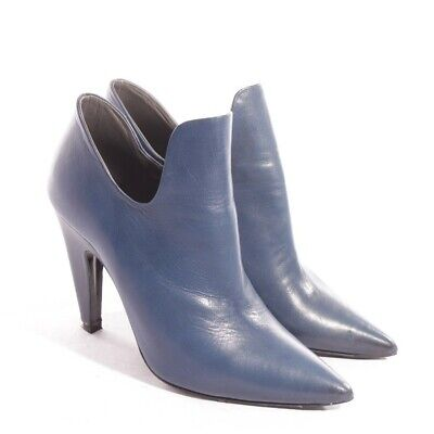 VIC MATIÉ PUMPS Gr. D 37 Blau Damen Schuhe High Heels