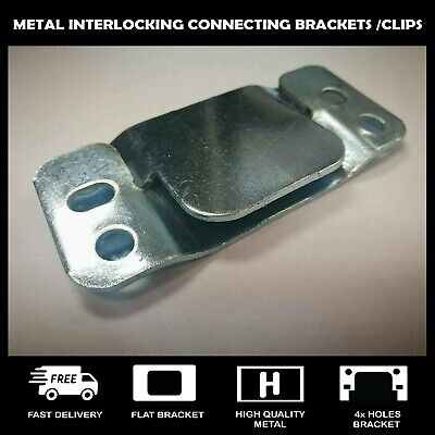 Heavy Duty Metal Interlocking Connecting Clips For Sofas Beds And Furniture