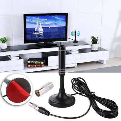 2019 Best Portable TV Antenna Indoor Outdoor Digital HD Freeview Aerial Ariels