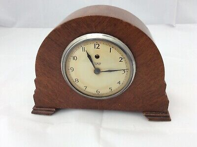 Art Deco Temco Electric Mantle Clock