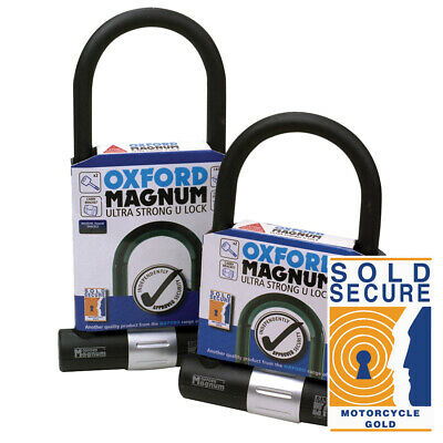 OXFORD PRODUCTS MAGNUM U-LOCK MOTORCYCLE SECURITY LOCK 170x285mm OF172