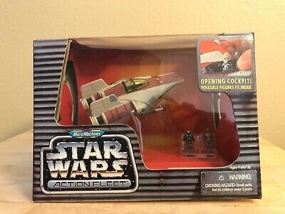 Star Wars Action Fleet Micro Machines A-Wing Starfighter