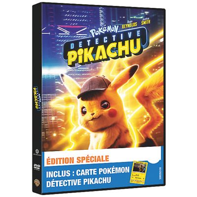 Pokémon Detective Pikachu - DVD + Carte Collector - Exclusif