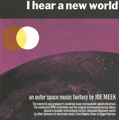 I HEAR A NEW WORLD AN OUTER SPACE MUSIC FANTASY BY JOE MEEK 3xCD  NEW (20THSEPT)