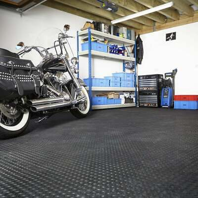 Garage Floor Interlocking Heavy Duty Vinyl Floor Tiles