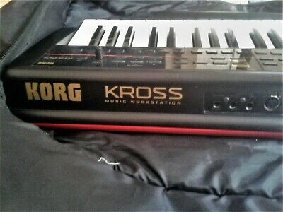 Korg Kross Keyboard - 61key Music Workstation with carry bag and user manual