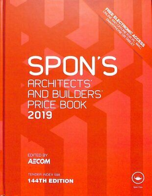 Spon's Architects' and Builders' Price Book 2019 by AECOM 9781138612013