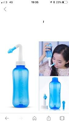 Hey Fever Control Nasal Cleaning Bottle.