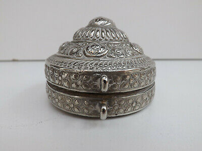 Antique 19th Century Bhutanese Betel Nut Lime Box